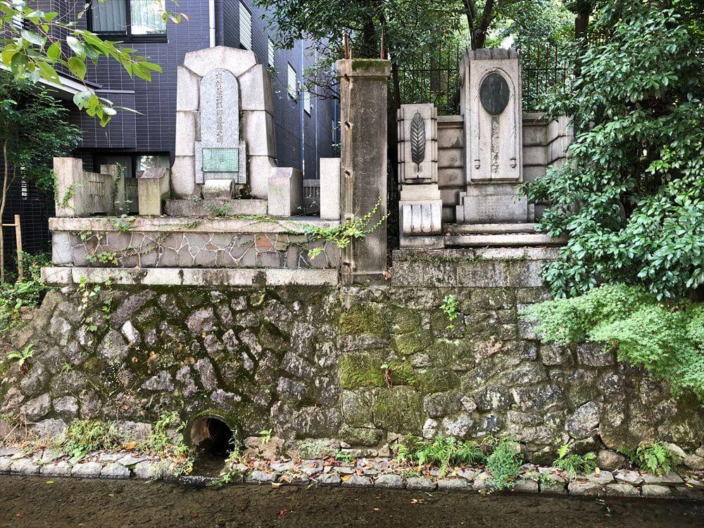 佐久間象山遭難の碑と大村益次郎遭難の碑