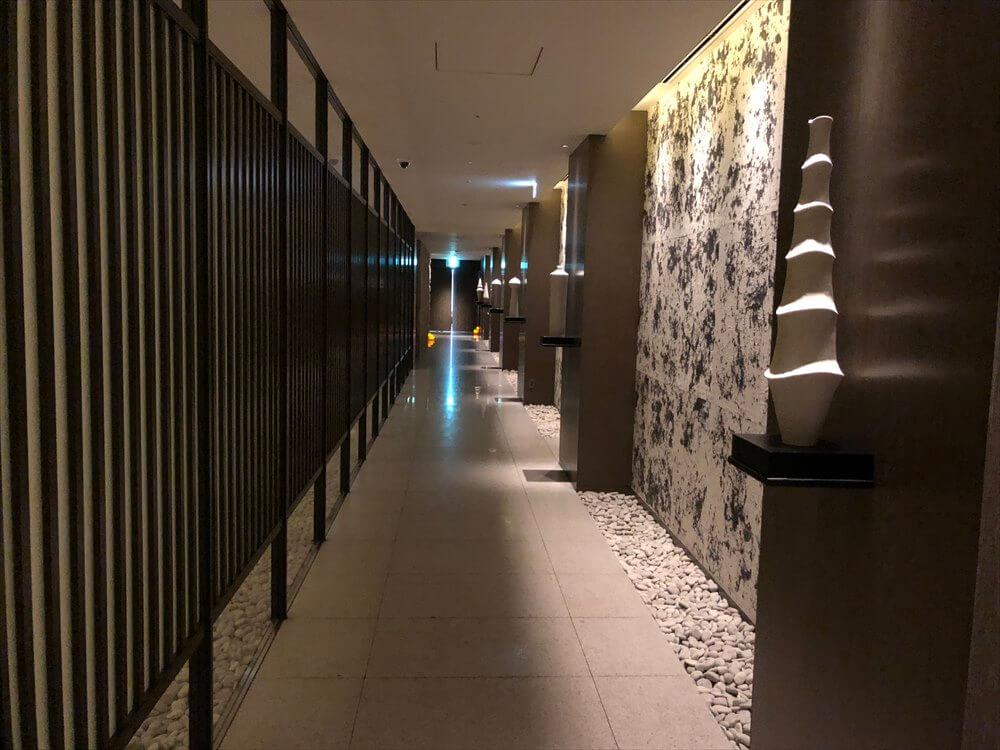 リッツカールトン京都のフィットネスセンターの入口1