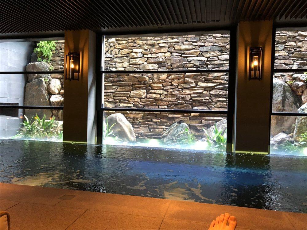 リッツカールトン京都のフィットネスセンターのプール5
