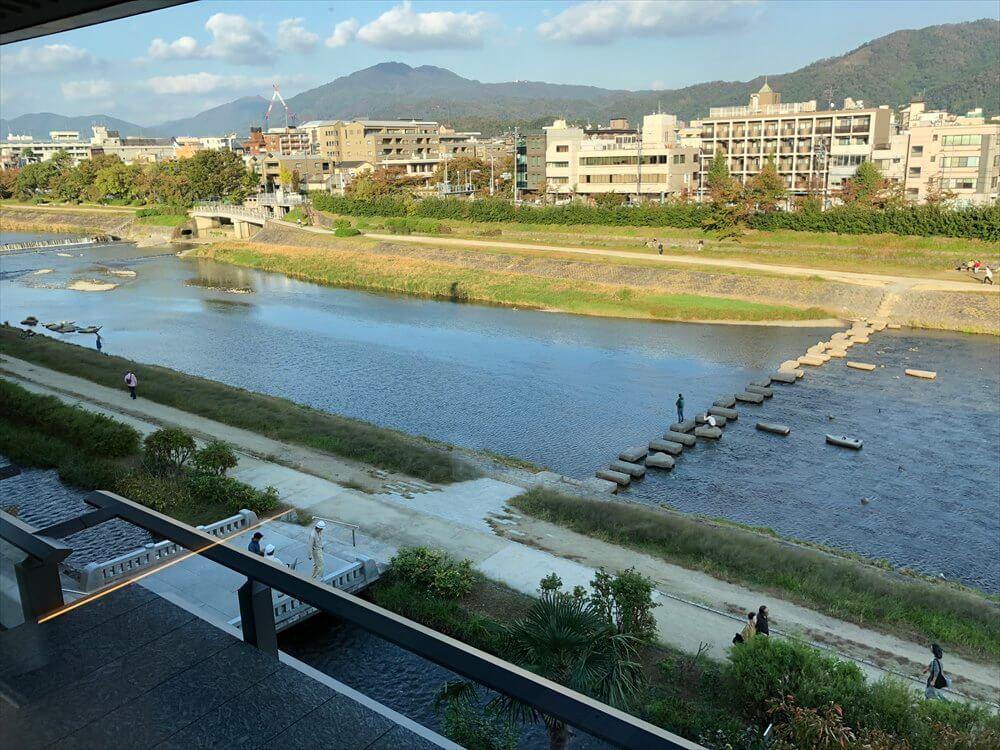 リッツカールトン京都のラグジュアリーからの眺め2