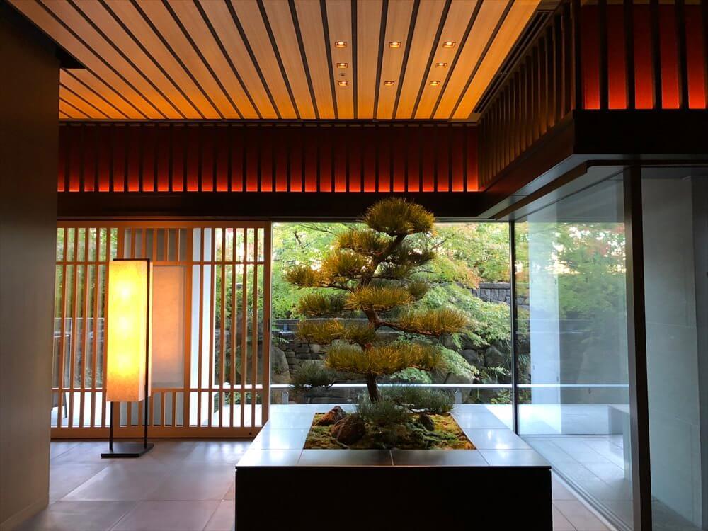 リッツカールトン京都の松