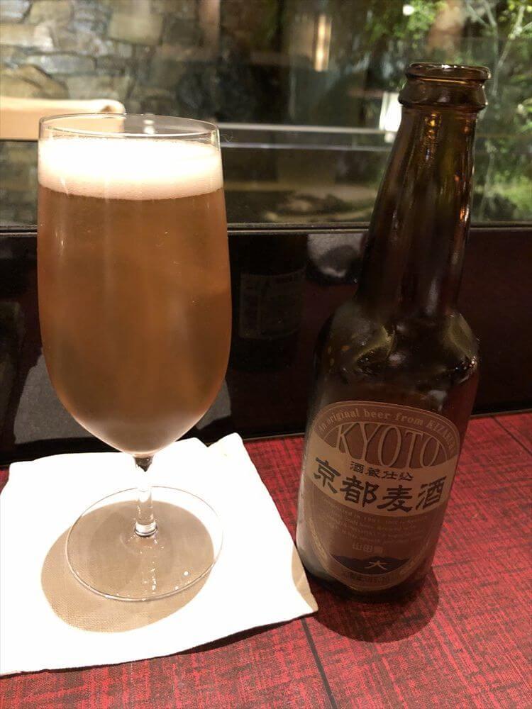 リッツカールトン京都の「水暉」の京都麦酒
