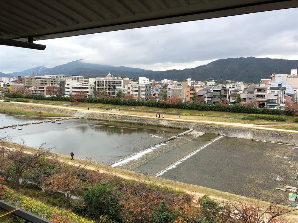 リッツカールトン京都からの眺め(朝)