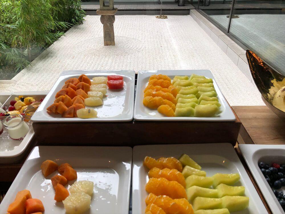 リッツカールトン京都のロカンダで朝食5