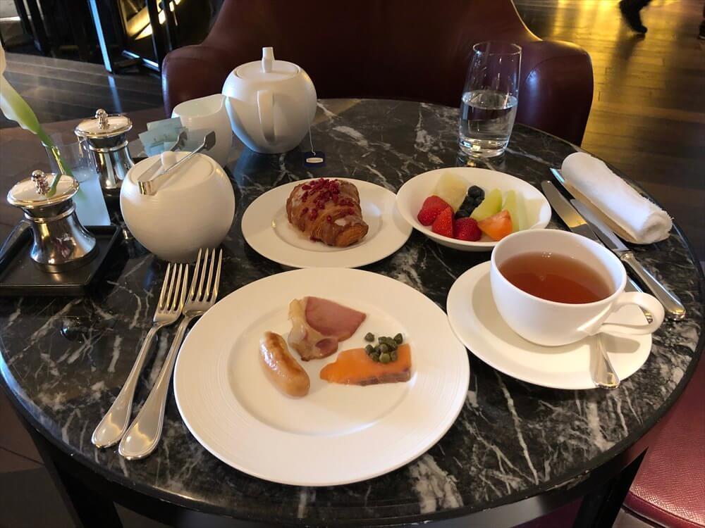 リッツカールトン京都のロカンダで朝食11