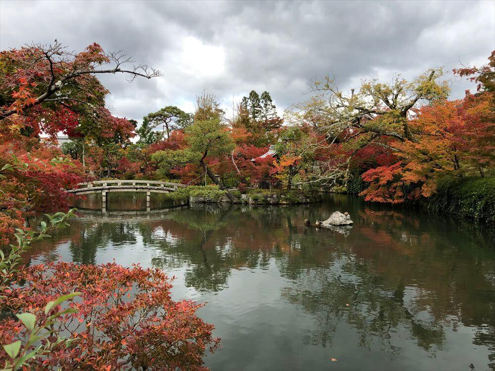 永観堂の放生池2