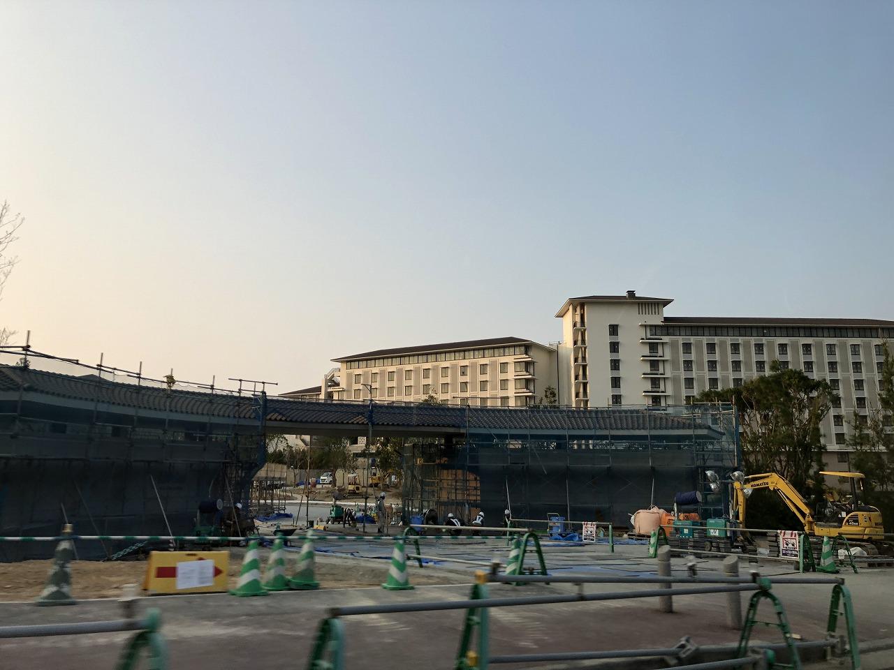 建設中のハレクラニ沖縄1