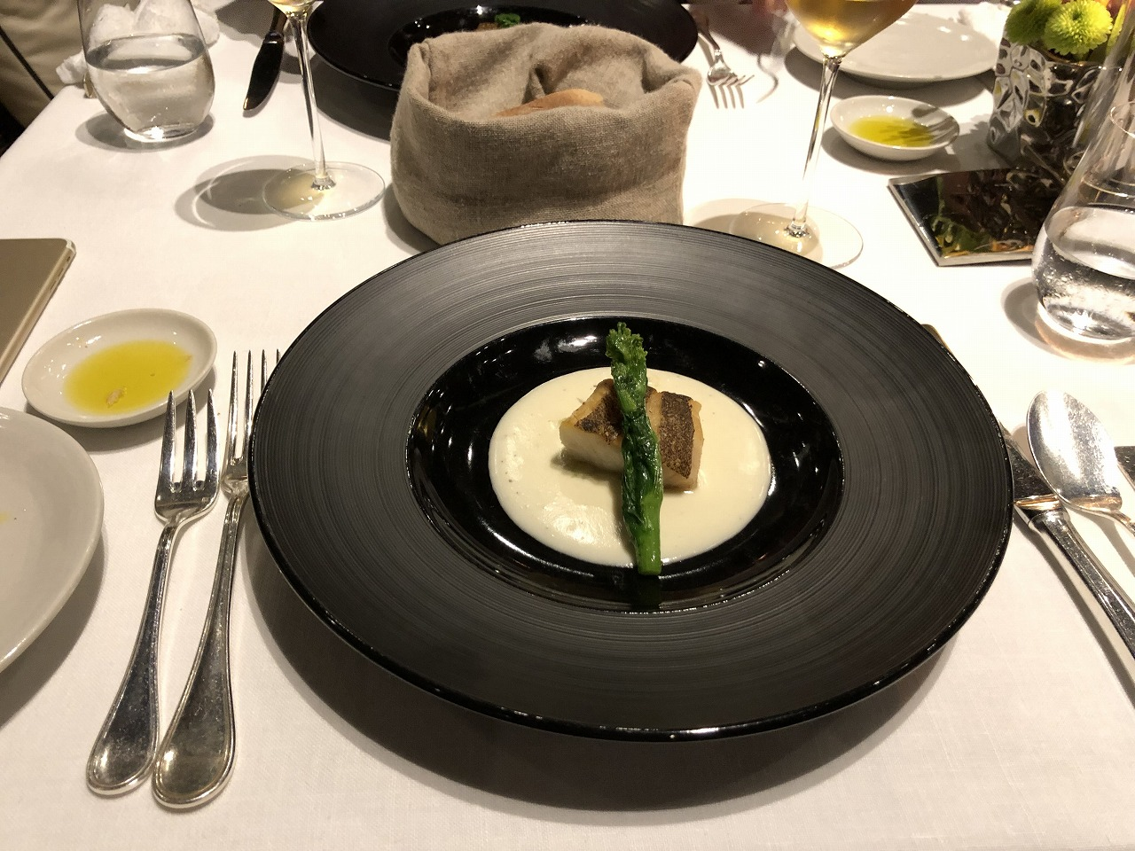 リッツカールトン沖縄のちゅらぬうじの魚料理1