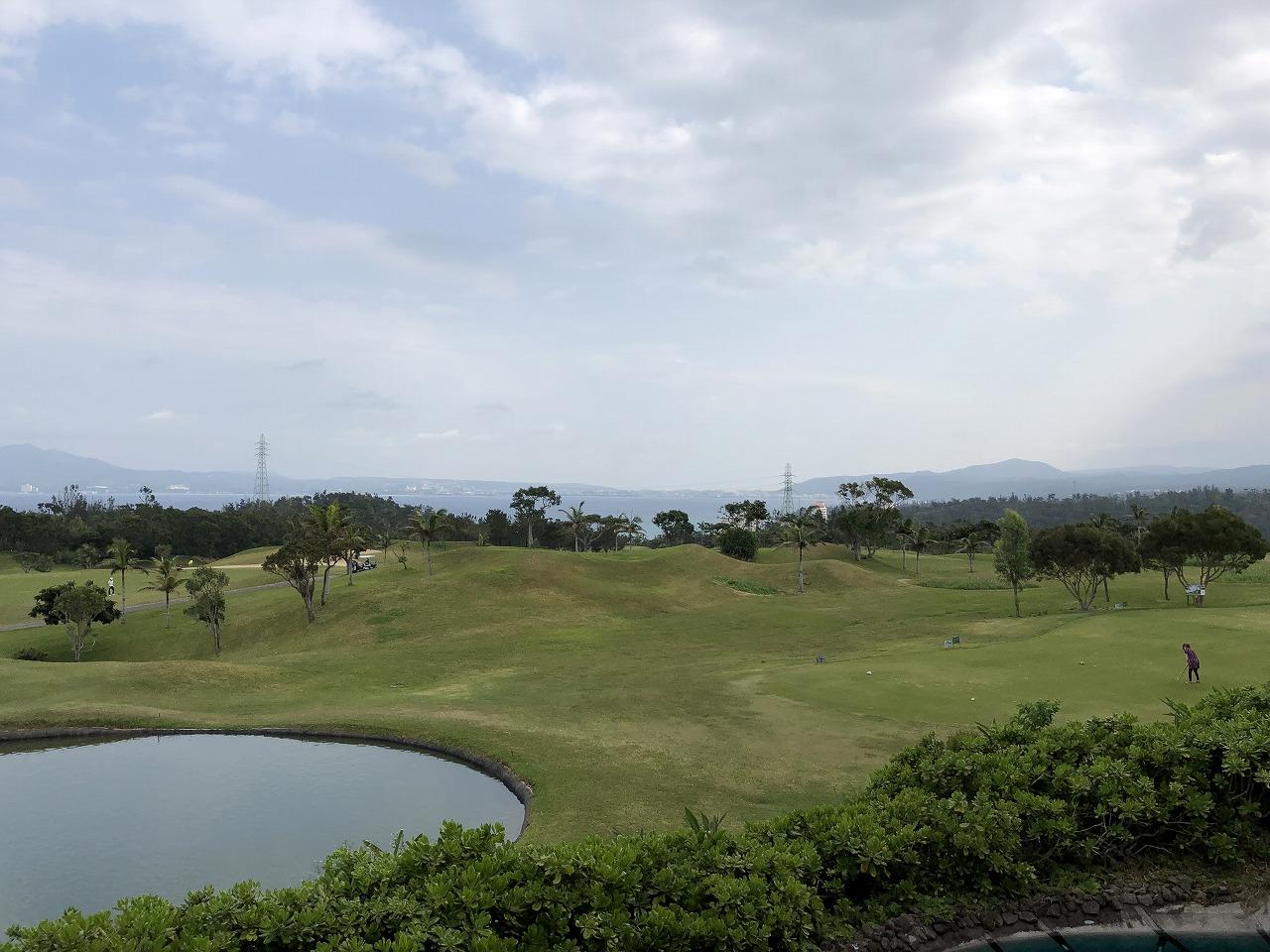 リッツカールトン沖縄の前の喜瀬カントリークラブ