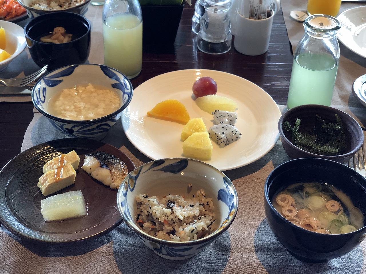 リッツカールトン沖縄の和定食