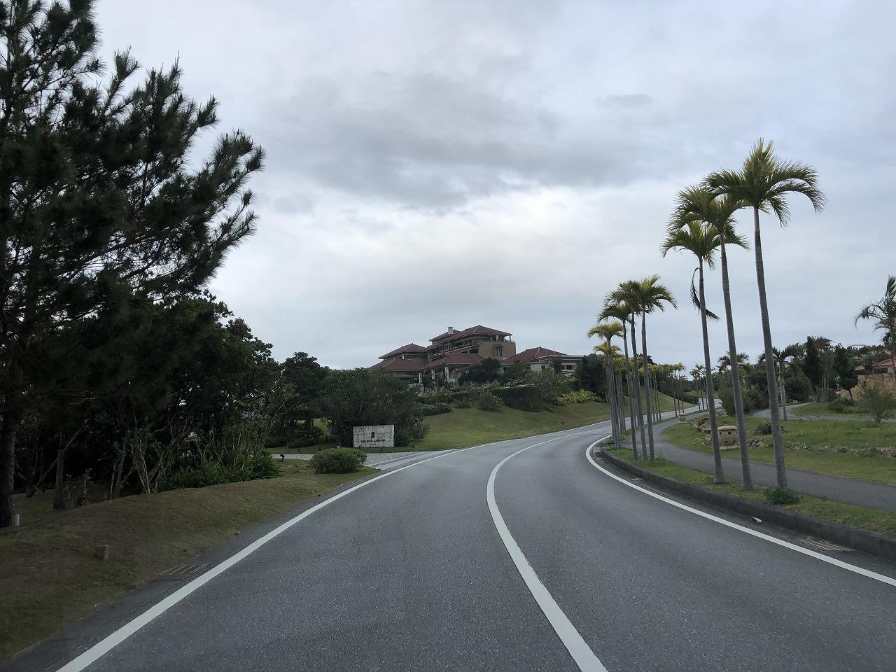 リッツカールトン沖縄への帰り道