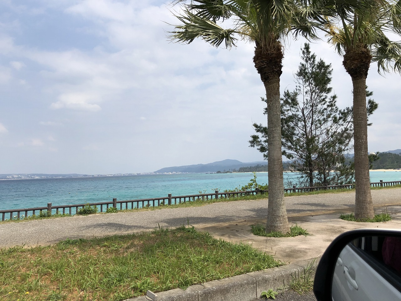 名護市のきれいな海