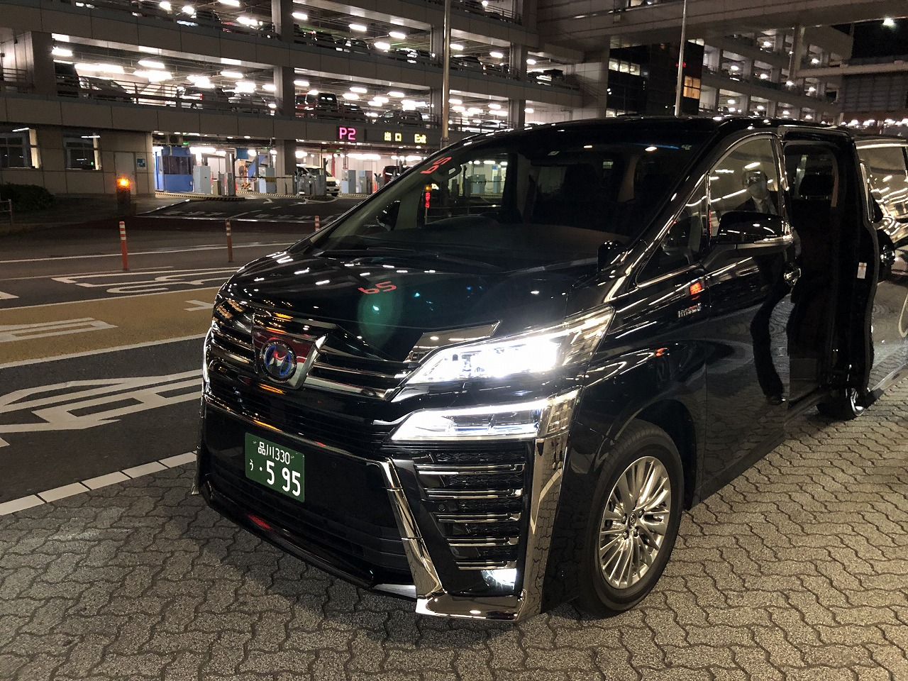 Uber Taxiのトヨタヴェルファイア