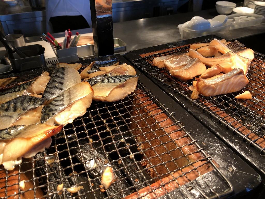 リッツカールトン東京のビュッフェ形式の朝食3