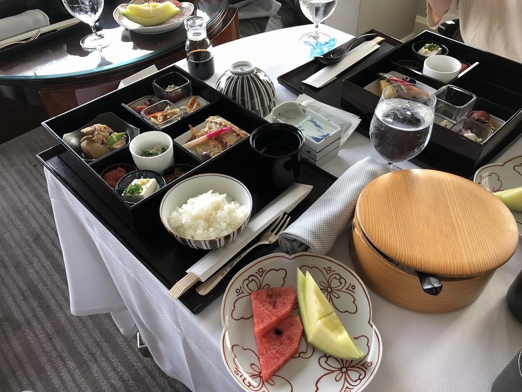コロナ禍におけるリッツカールトン東京のインルームダイニング