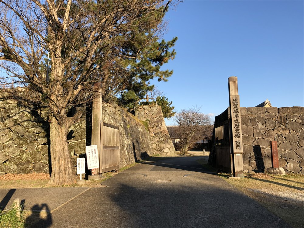 佐賀城の石垣1