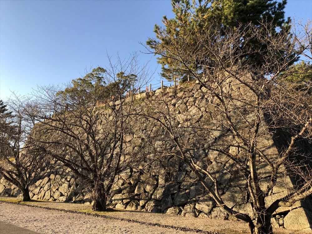 佐賀城の天守台