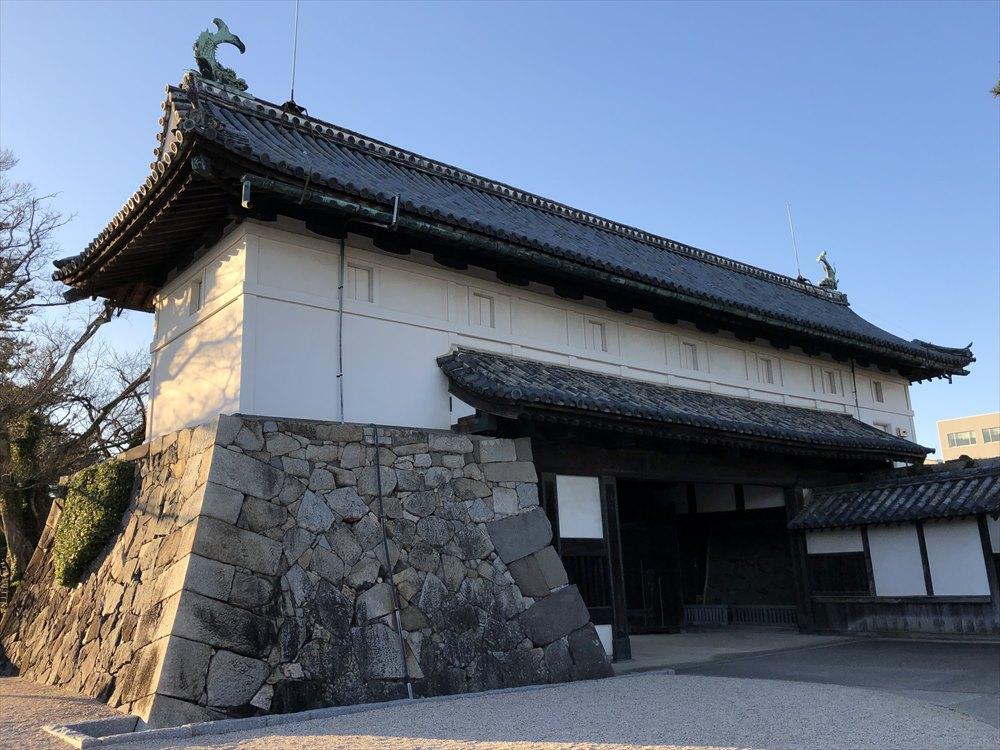 佐賀城の鯱の門1