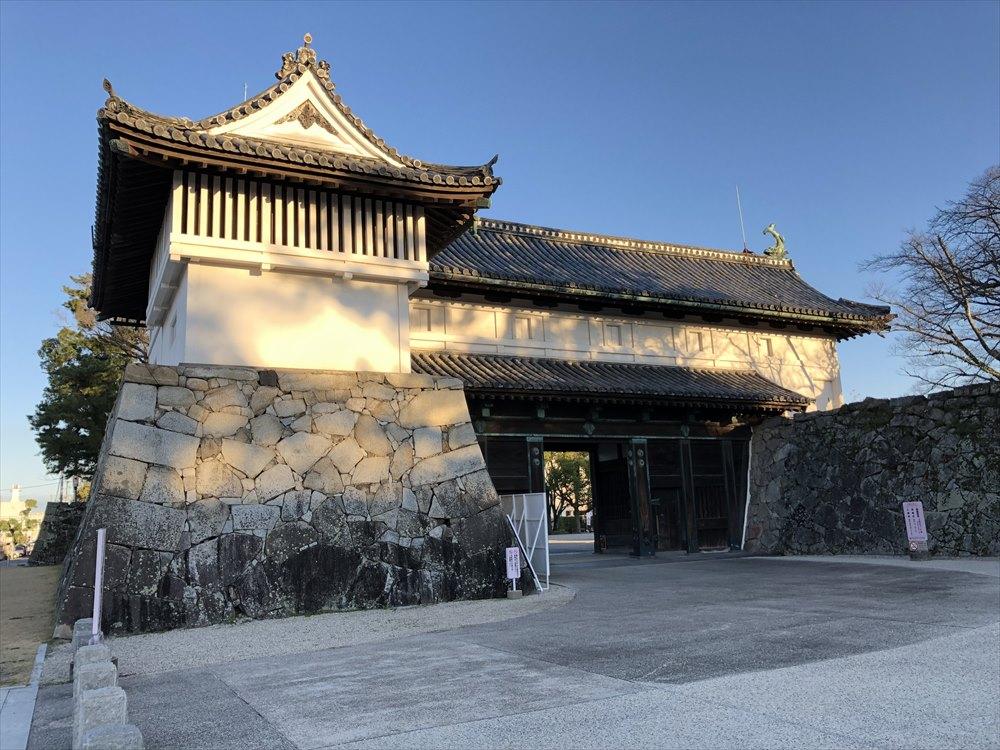 佐賀城の鯱の門2