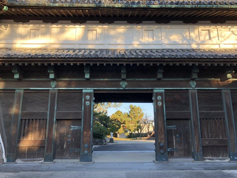 佐賀城の鯱の門3