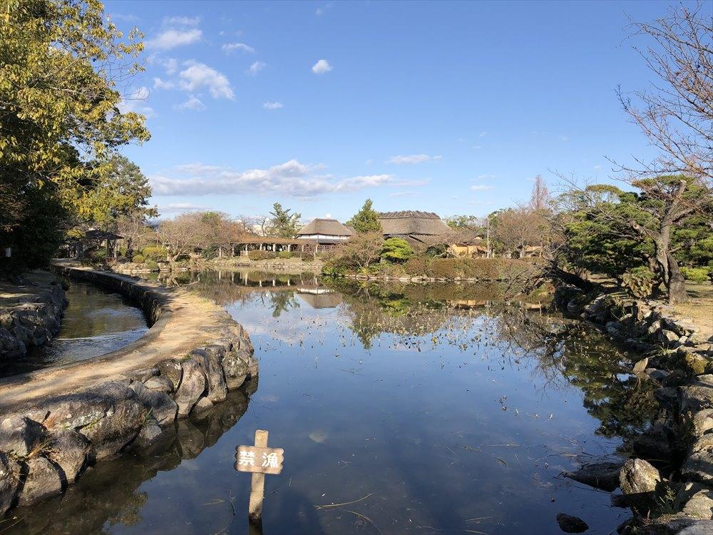 神野公園の池