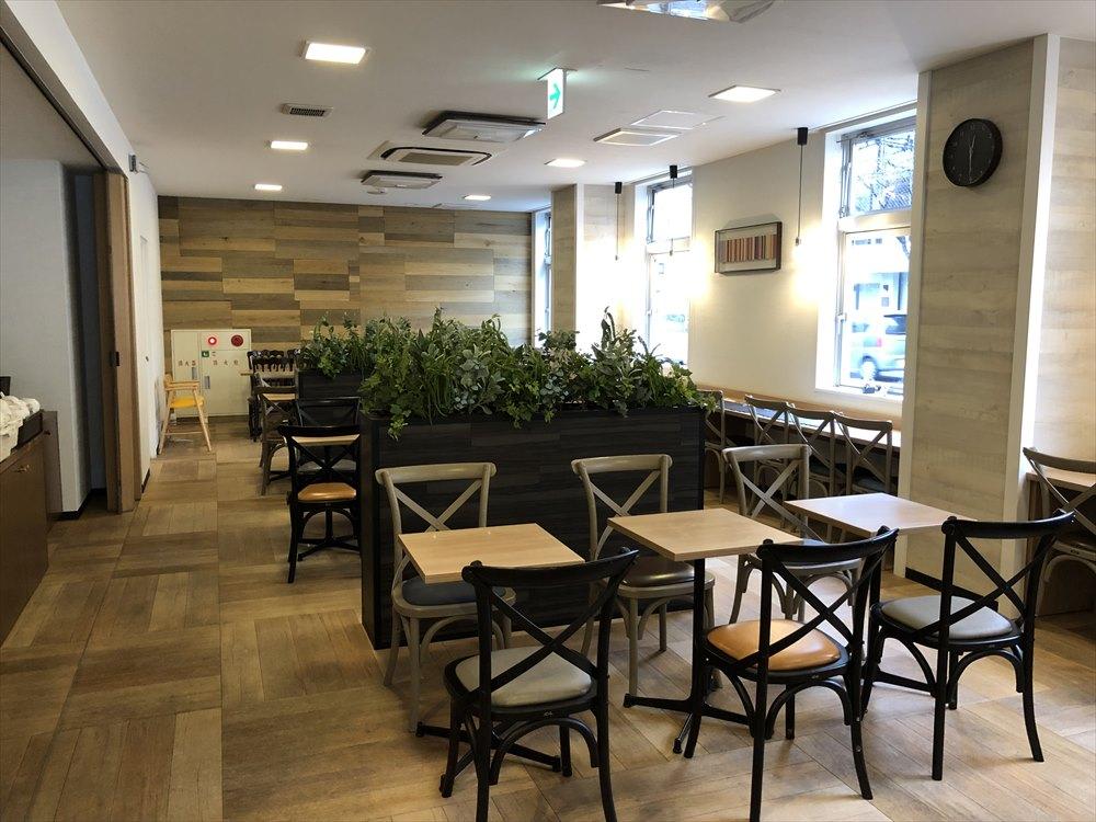 コンフォートホテル佐賀1階の朝食会場