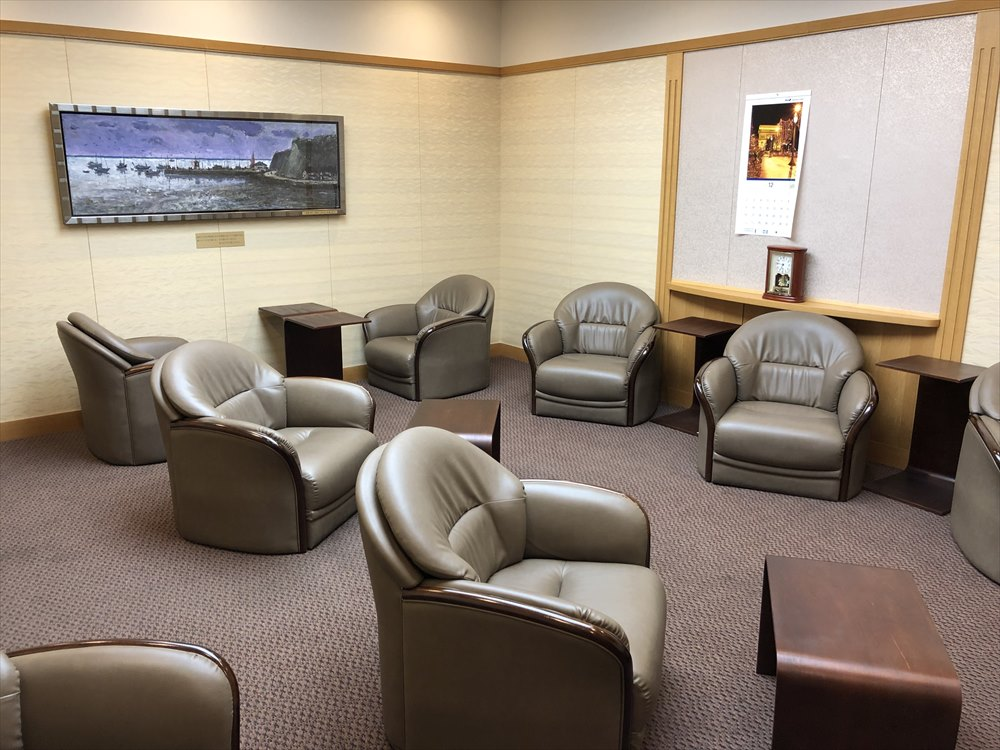 佐賀空港の有料待合室5
