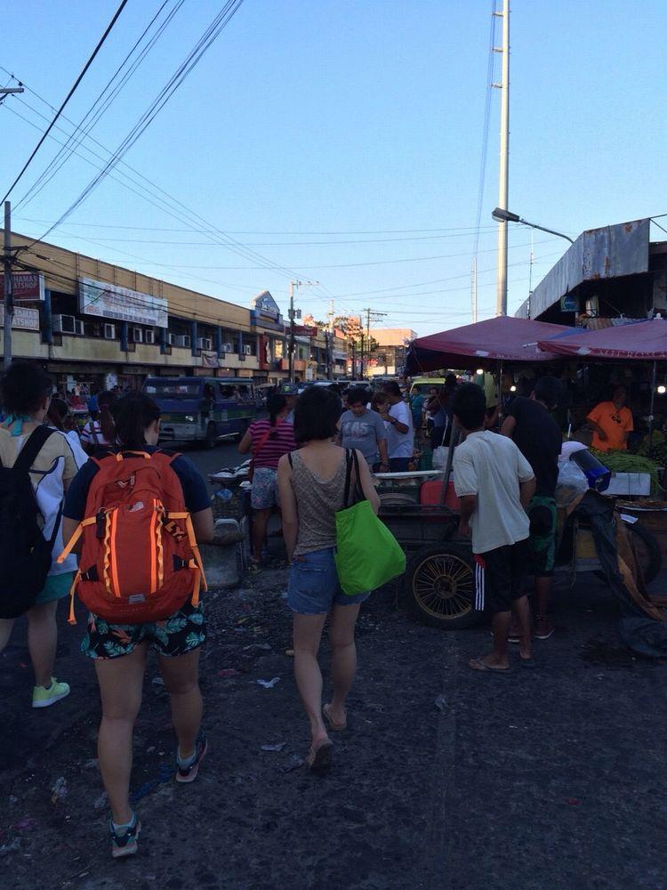 フィリピンのバコロドの街並み