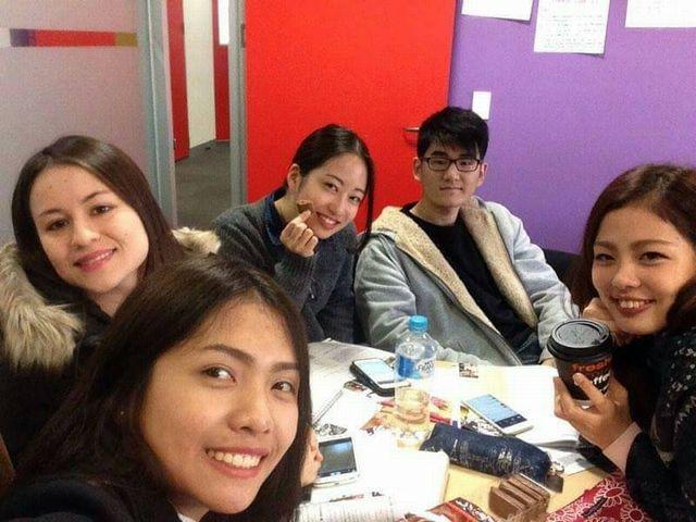 グループレッスンのオーストラリアの語学学校