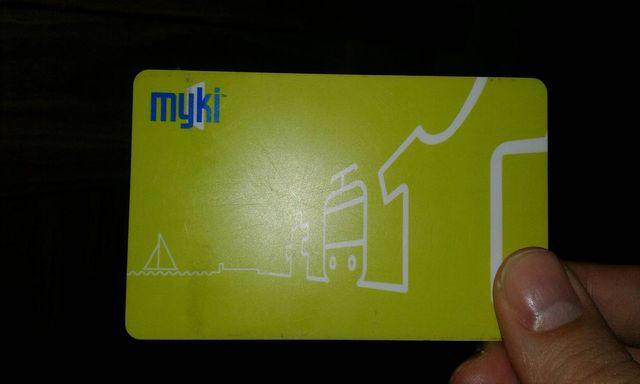 オーストラリアのMYKIカード