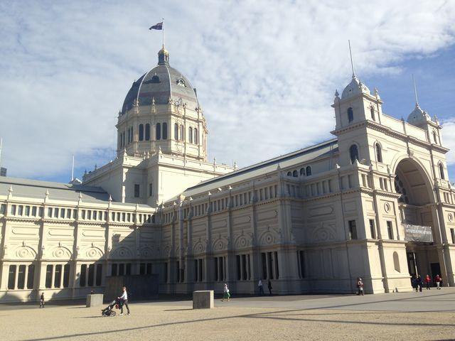 メルボルンの博物館のきれいな建物1