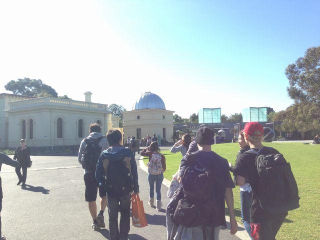 メルボルンのロイヤル植物園1