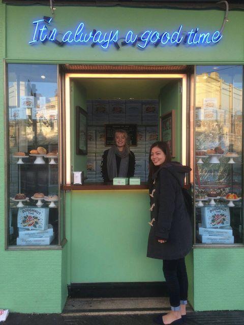 メルボルンのフィツロイのドーナツ屋