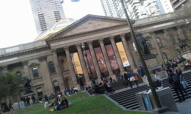 メルボルンのState Library of Victoria