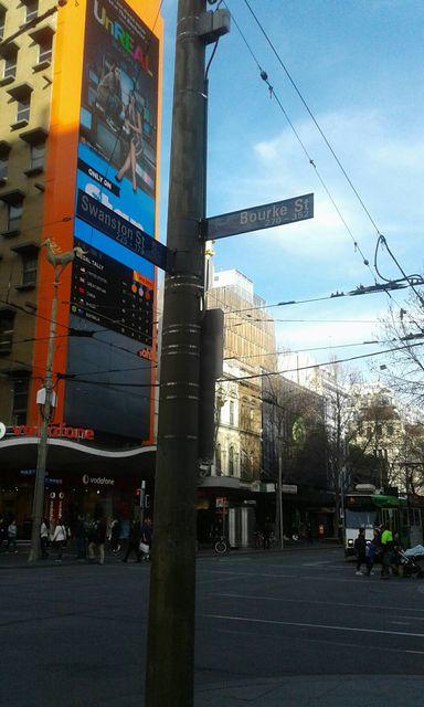 メルボルンのBourke street1