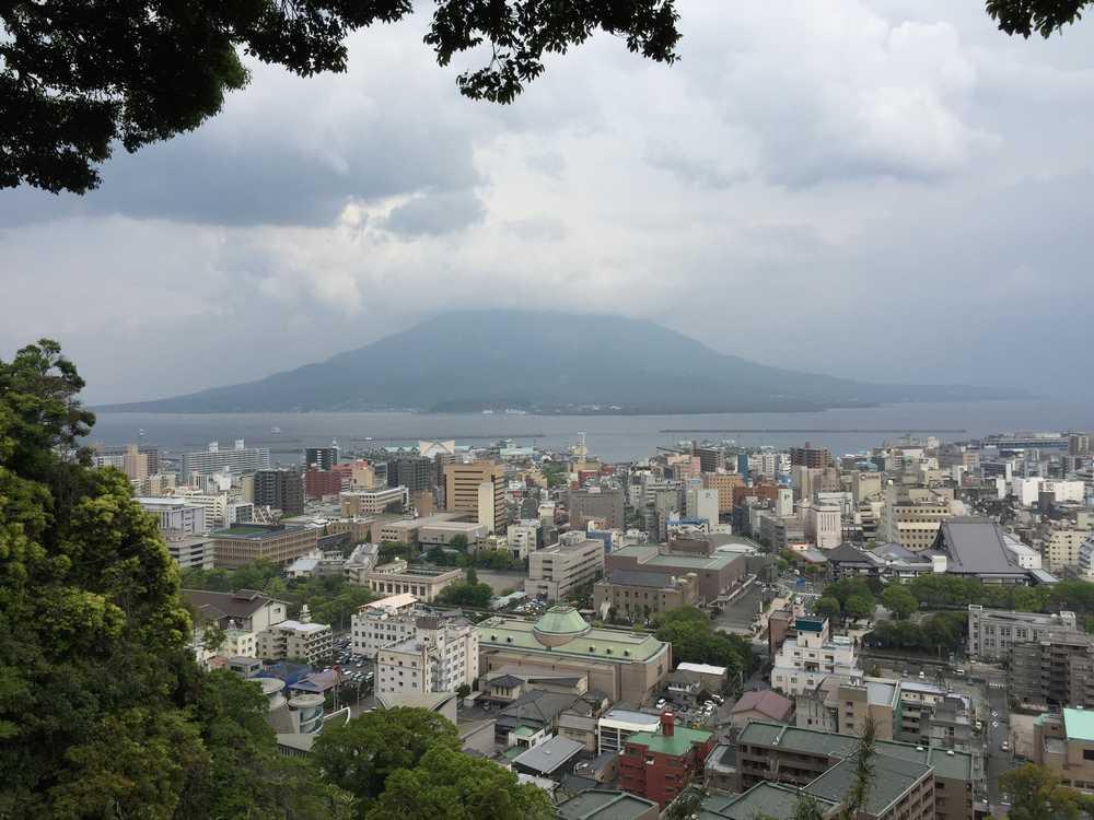 2015年4月16日の桜島画像