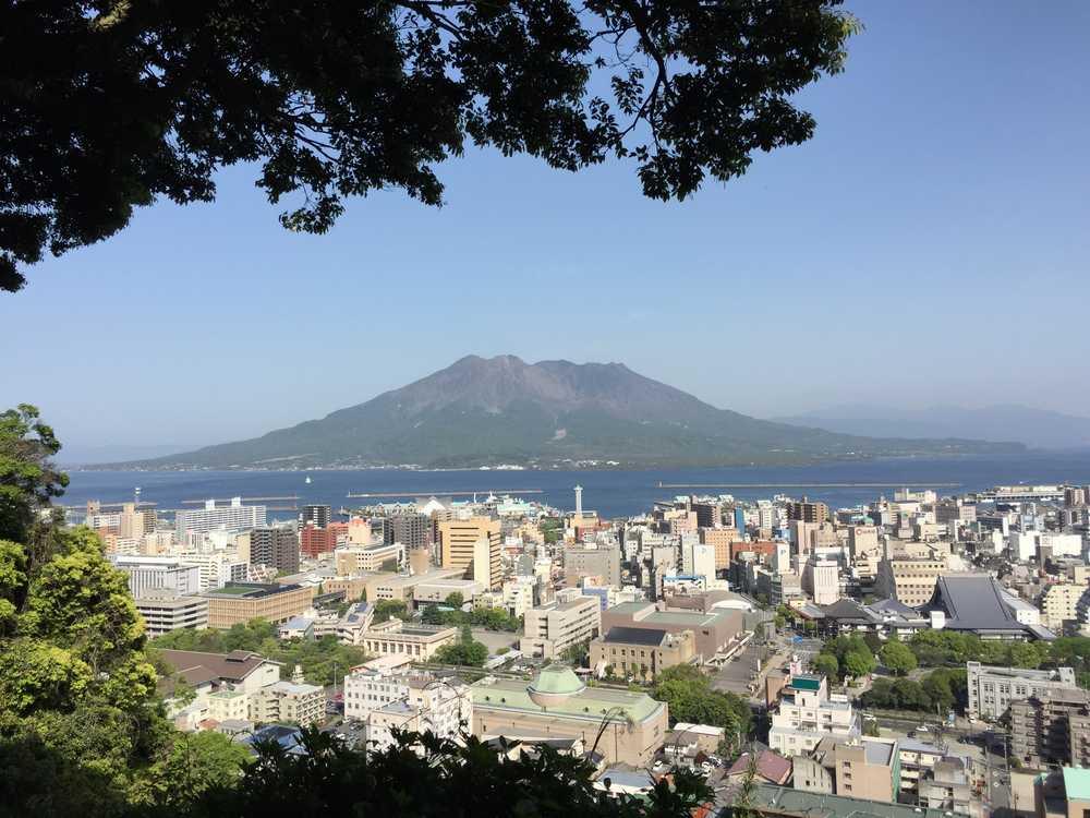 2015年4月17日の桜島画像