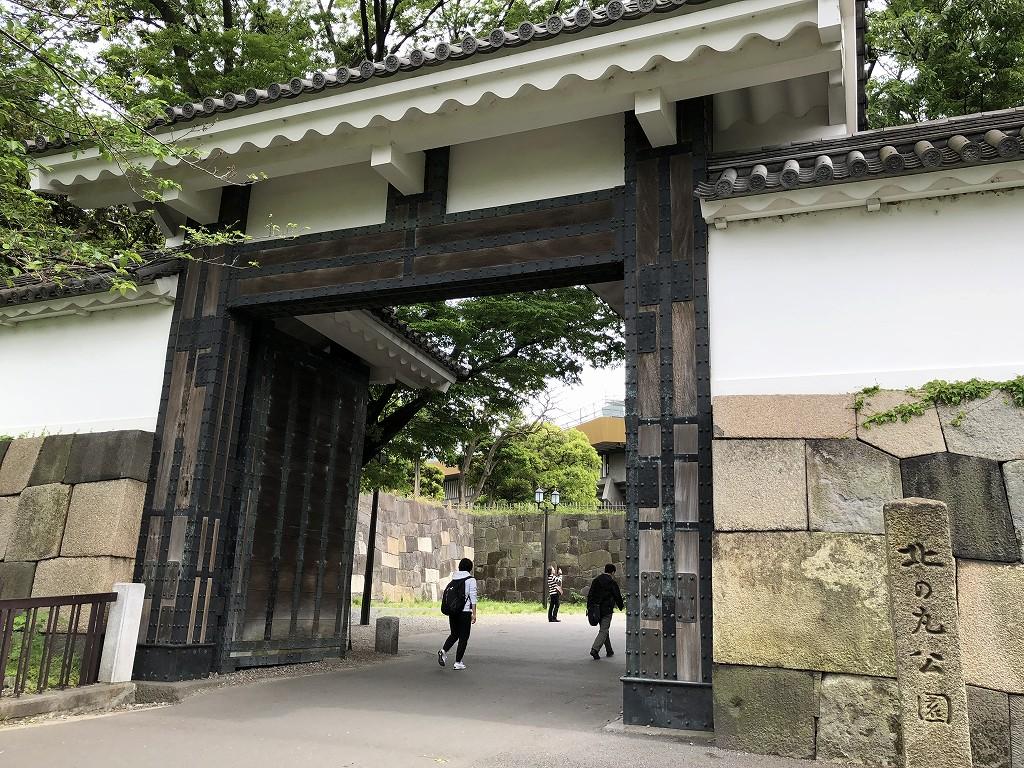 江戸城の田安門1