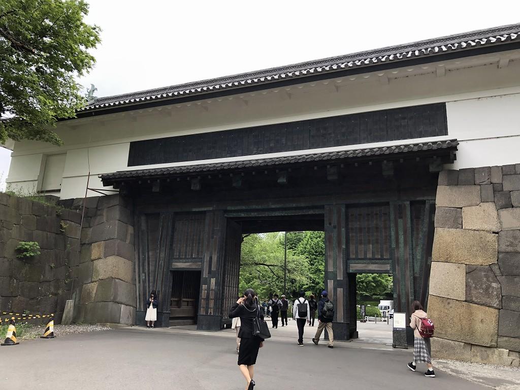 江戸城の田安門2