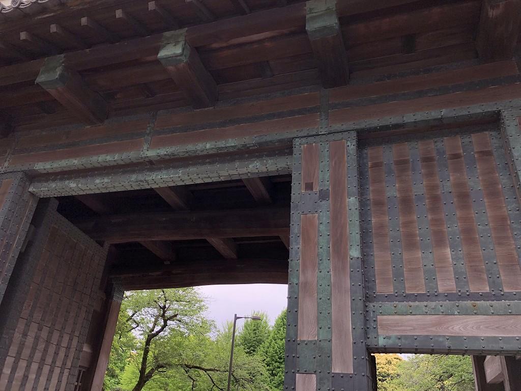 江戸城の田安門3