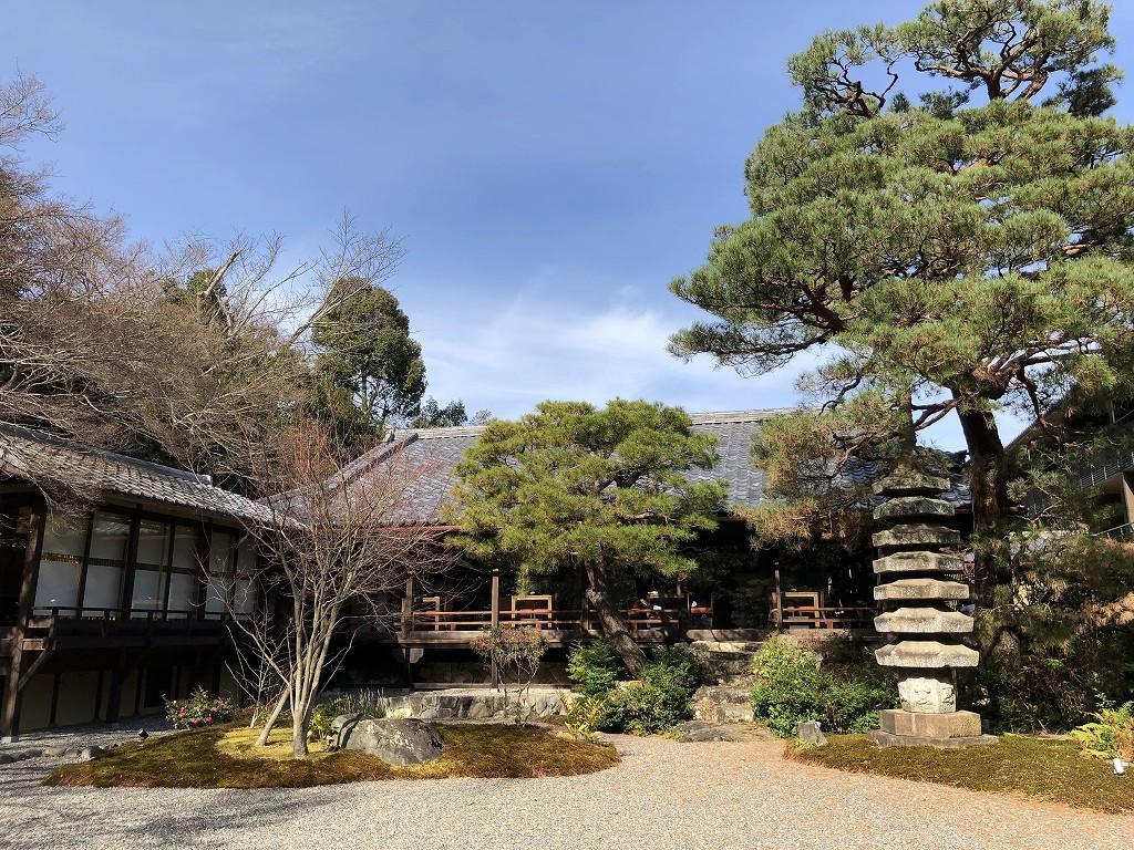 翠嵐ラグジュアリーコレクションホテル京都の中庭2