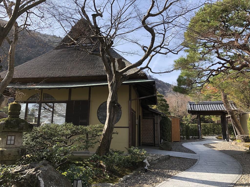 翠嵐ラグジュアリーコレクションホテル京都の茶寮八翠の外観