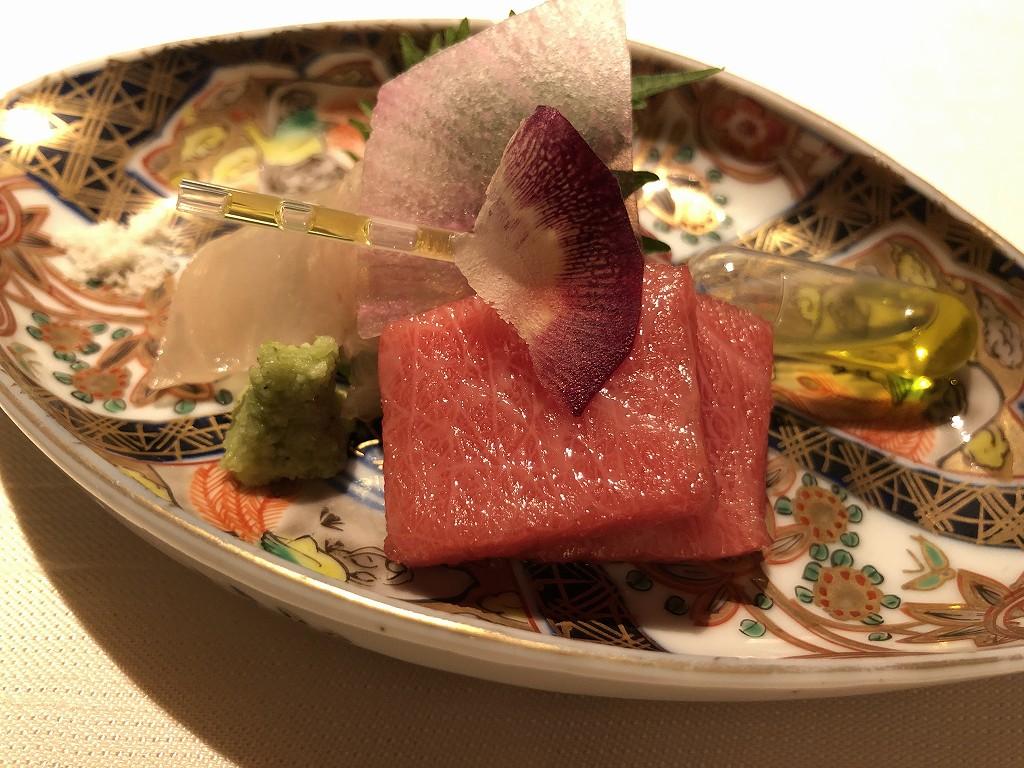 翠嵐ラグジュアリーコレクションホテルの「京 翠嵐」の鴨肉と百合根の団子
