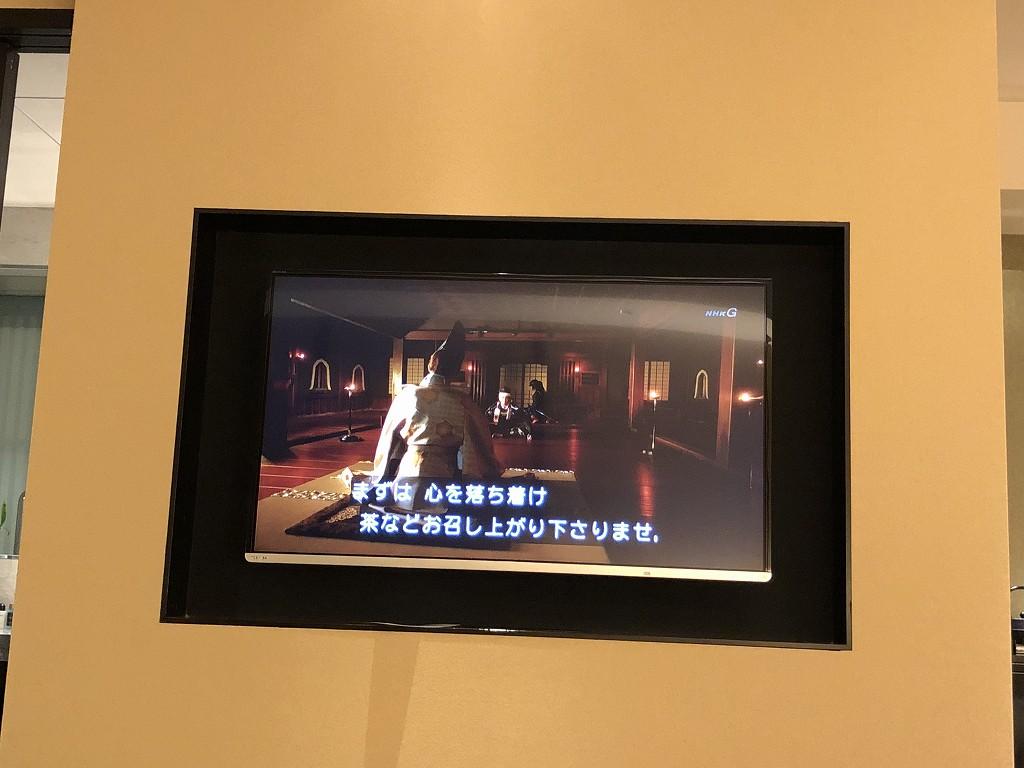 翠嵐ラグジュアリーコレクションホテルで「麒麟がくる」2