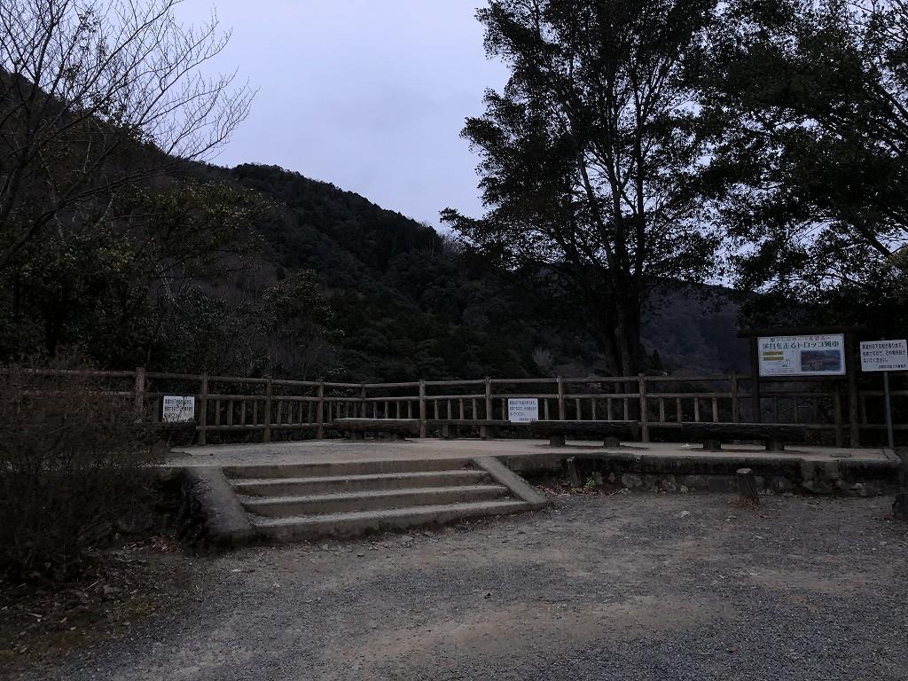 早朝の亀山公園から保津峡1