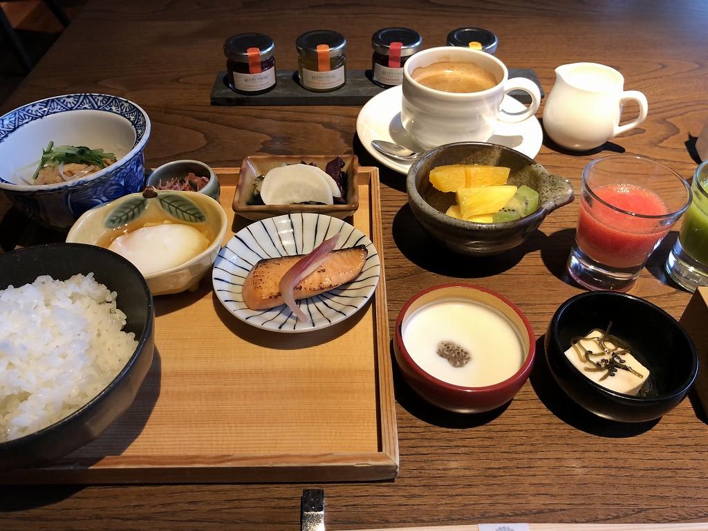 翠嵐ラグジュアリーコレクションホテル京都の和食