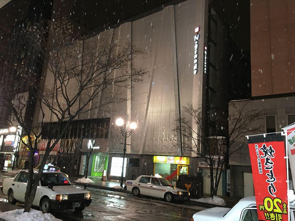 雪降の札幌