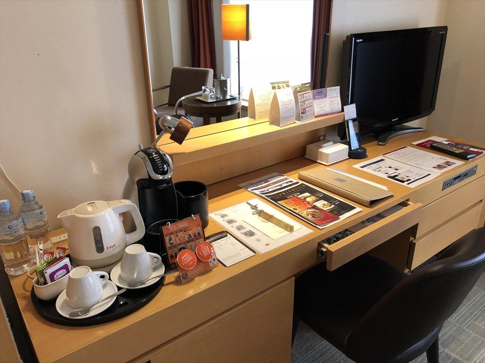 ホテルオークラ札幌のエクゼクティブダブル3