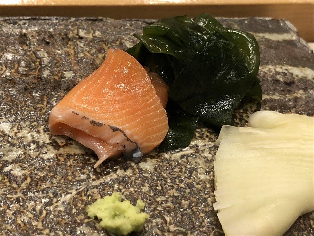 札幌の鮨 西光のマスノスケ