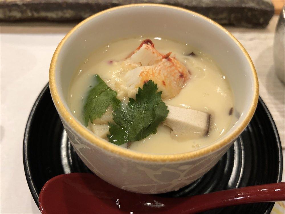 札幌の鮨 西光の茶碗蒸し